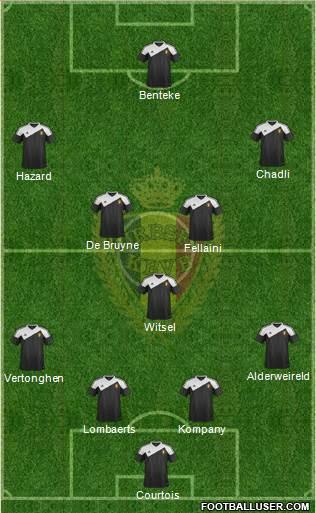 belgium-vs-israel-possible-line-up